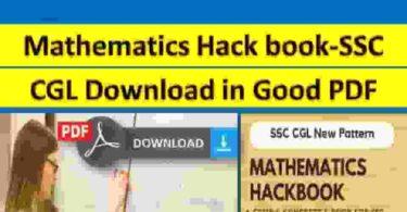 Mathematics Hack book