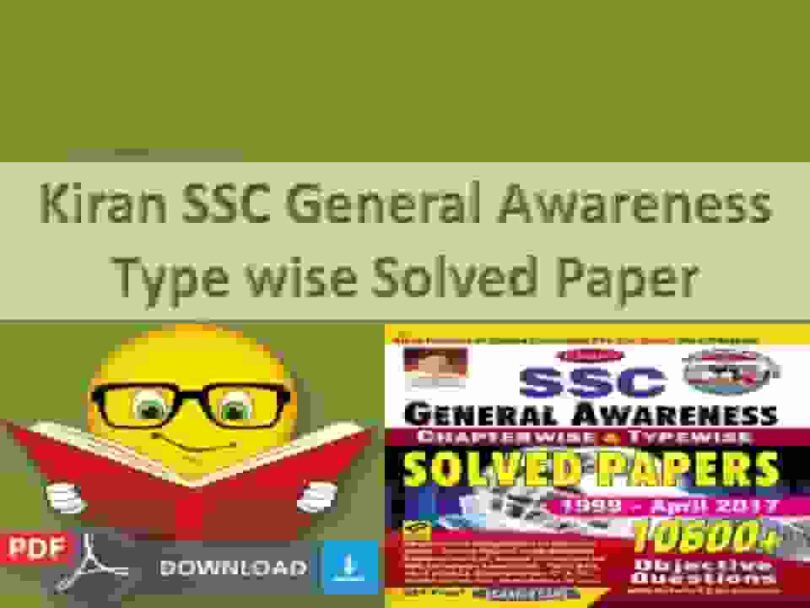 Kiran SSC General Awareness