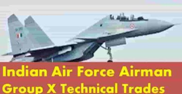 Indian AirForce Airman GroupX