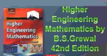 Bs Grewal by Engineering Mathematics 42nd Edition