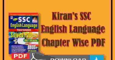 Kiran SSC English Language