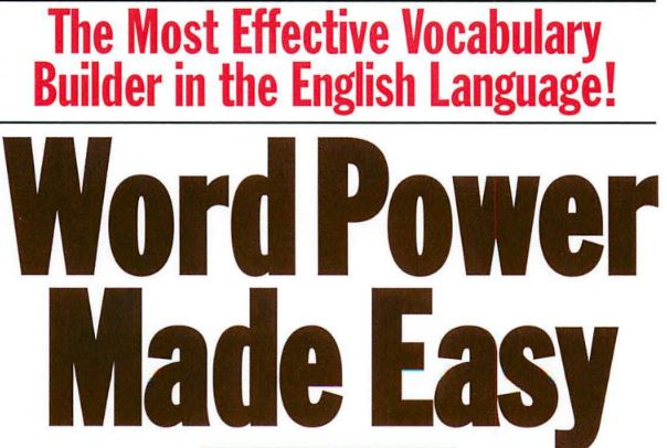 Word Power Made Easy Download in Good PDF