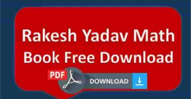 Rakesh Yadav Math Book Free Download