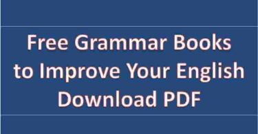 Free Grammar Books to Improve Your English Download PDF