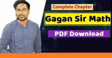 Gagan Pratap Math Class Notes