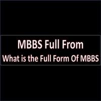 MBBS Full From