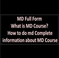 MD Full Form