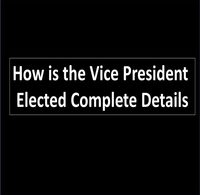 How is the Vice President Elected