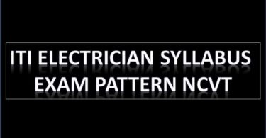 ITI Syllabus, Exam Pattern NCVT