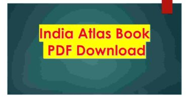 India Atlas Book PDF Download