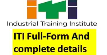 ITI Full-Form